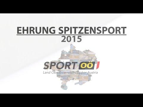 SPORT OBERÖSTERREICH // Spitzensport 2015
