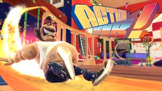 Action Henk Fun with Delirious, Basically, and Cartoonz (Fails and Funny Moments)