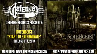 Rotengeist - Start To Exterminate (FULL ALBUM) Defense Records