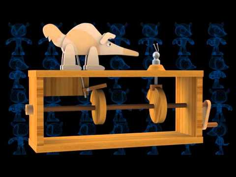 Aardvark Vs Ant Wooden Toy 3d Model Youtube