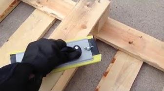 DIY: yrttiteline kuormalavasta