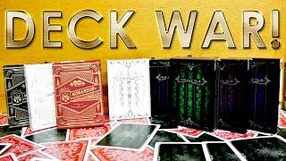 Deck War - Monarchs Vs Artifice Playing Cards [HD]