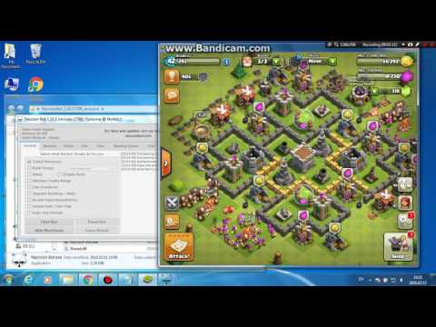[Setup Tutorial]Clash of clans Raccoon Bot | Updated February 2016 | Anti-Ban | Easy to use |