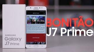 Samsung Galaxy J7 Prime | Primeiras Impressões com Unboxing