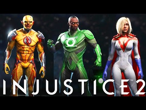 Injustice 2 power girl in game first look all premier skins so injustice 2 power girl in game first look all premier skins so far injustice gods among us 2 voltagebd Gallery