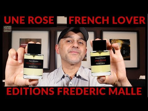 Editions Frederic Malle Une Rose, French Lover + Frederic Malle Interview | USA Samples Giveaway