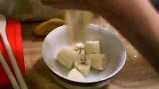 Banana Crunch Cake Part 2