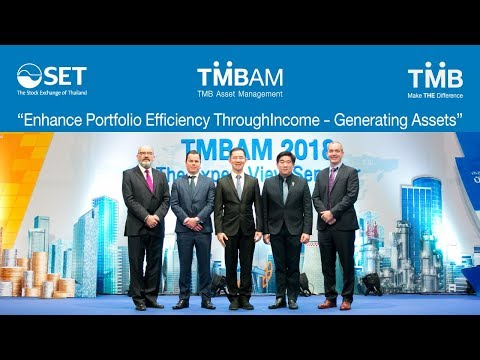 TMBAM Seminar: Enhance Portfolio Efficiency Through Income - Generating Assets