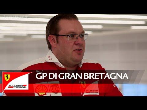 Il GP di Gran Bretagna con David Greenwood - Scuderia Ferrari 2016