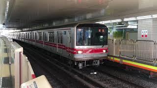 【まるのうちせん】東京メトロ丸ノ内線 02系@後楽園駅