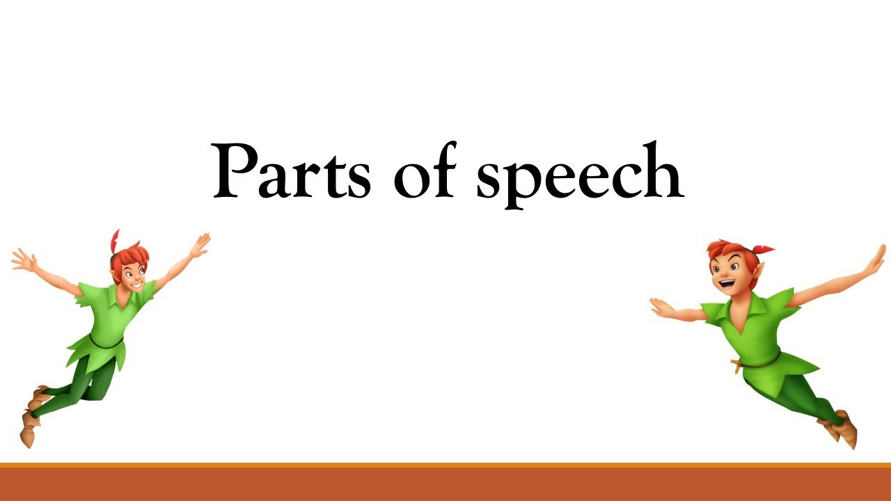 Basic English Grammar Parts Of Speech Spoken English Beginners