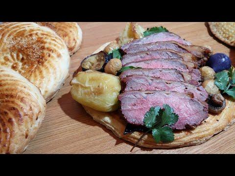 Ростбиф из говядины - рецепт, как приготовить сочный Roast Beef в духовке вкусно и просто 🥩