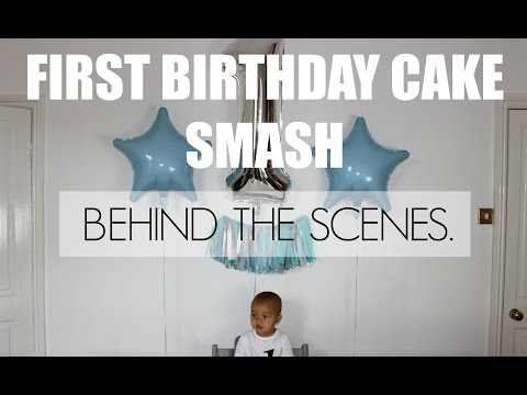 FIRST BIRTHDAY CAKE SMASH SHOOT- BEHIND THE SCENES.