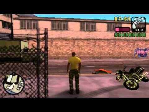 Grand Theft Auto: Vice City Stories on psp gameplay - YouTube