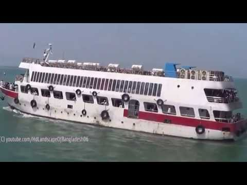 Amazing Luxurious Cruise Ship Sea Truck Ships Run Between Teknaf Saint Martins Island Teknaf