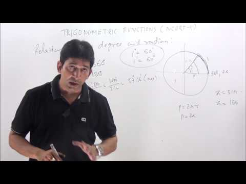 Trigonometric Functions-1 Class 11 NCERT Solutions With Concept
