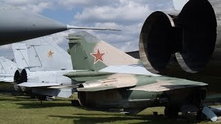 My Impressions from the Russian Air Force Museum in Monino, Russia