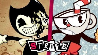 Bendy VS Cuphead | STRIFE!!