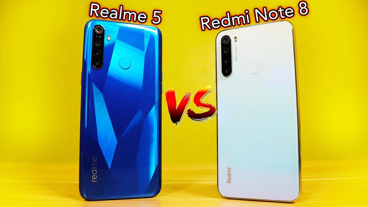 Realme 5 Vs Redmi Note 8 - THE ULTIMATE COMPARISON - YouTube