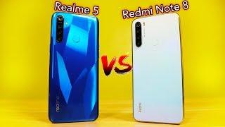 Realme 5 Vs Redmi Note 8 - THE ULTIMATE COMPARISON