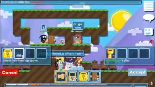 Growtopia|SweGamerHd|Scammer Fails|Top 5 Fail!