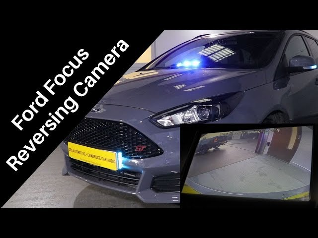 How To Avoid Nasty Bumps | Ford Focus Reversing Camera