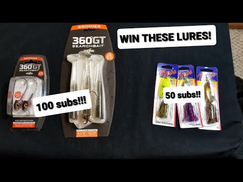 WIN THESE FISHING LURES!