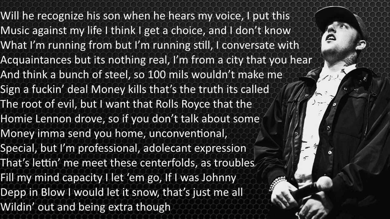 Mac Miller- The Star Room Lyrics - YouTube