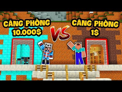 CĂN PHÒNG KIM CƯƠNG 10.000$ VS CĂN PHÒNG ĐẤT 1$ (Oops Mazk Minecraft) thumbnail