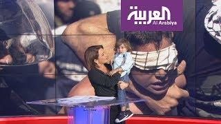 """ابن """"مذيعة"""" يقتحم نشرة أخبار على الهواء.. ومقدمتها ترد: """"روح لماما"""""""