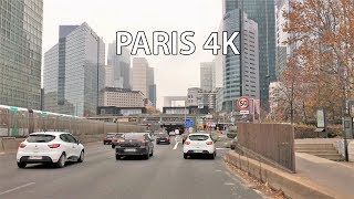 Paris 4K - Paris Skyscraper District