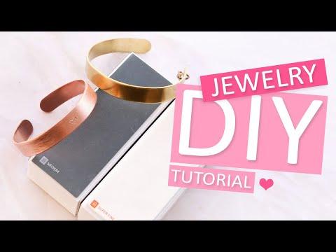DIY Tutorial – ImpressArt finish buffing und High polish block – Selbst Schmuck machen