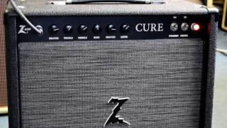 Dr. Z Cure distortion demonstration w/ Gibson Les Paul Jr.
