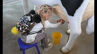 Почему Алиса ездит в коляске Сафари Дубай Классные БЕГЕМОТИКИ и Лемурчики ! Safari Dubai