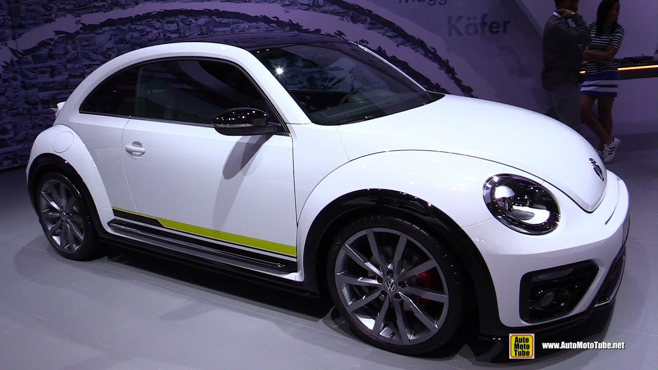 volkswagen beetle r line concept exterior and interior. Black Bedroom Furniture Sets. Home Design Ideas