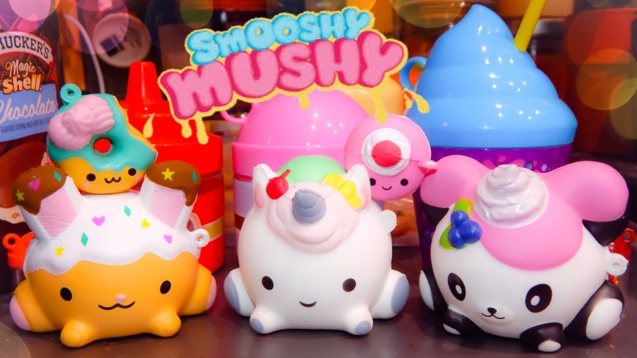 Squishy Mushy Series 3 : Smooshy Mushy (Scented Squishies): Series 1 & Frozen Delights UNBOXING - YouTube