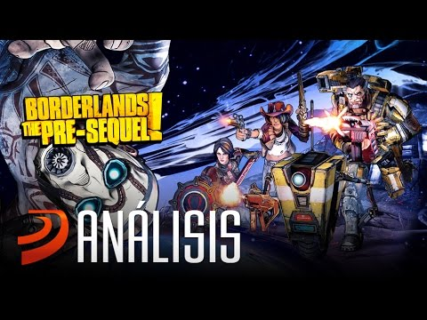 "Análisis de Borderlands: The Pre-Sequel! - ""Acción lunática"""