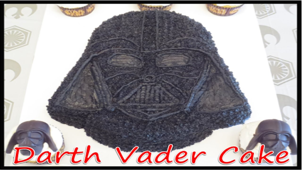 Darth Vader Cake Using a Wilton Pan (How to) - YouTube