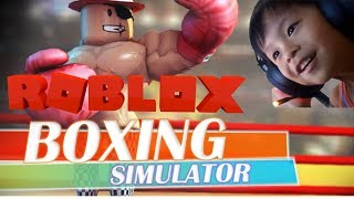 Let's Play Roblox! Boxing Simulator 2 Gameplay!