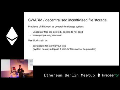 Workshop: Introduction to smart contract programming - Christian Reitwiessner - at GSC
