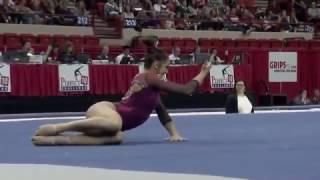 Maggie Nichols (Oklahoma) 2017 Floor 10.0