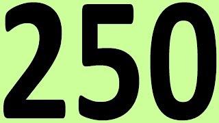 АНГЛИЙСКИЙ ЯЗЫК ДО АВТОМАТИЗМА ЧАСТЬ 2 УРОК 250 УРОКИ АНГЛИЙСКОГО ЯЗЫКА