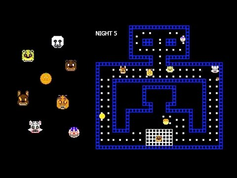 FNAF PAC-MAN 4 Halloween | All Nights Gameplay [2015-11-09]