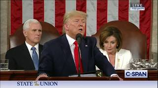 President Trump Highlights Tillis' Sanctuary Cities Legislation in State of the Union Address