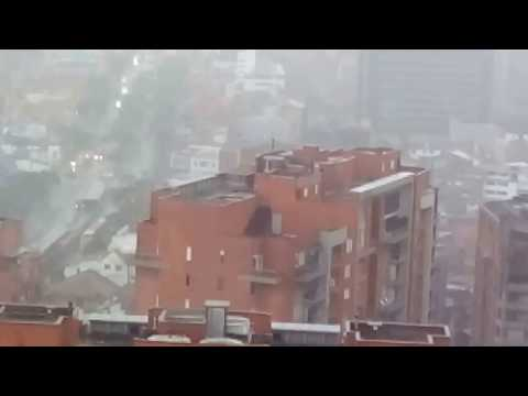 Raining in Bogota-Colombia