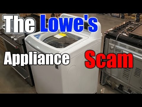 The Lowe's Appliance SCAM You Need To Know About | THE HANDYMAN |