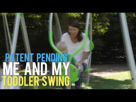 Spring Breeze Me & My Toddler Swing Set by Sportspower