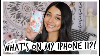 what's on my iphone 11?!
