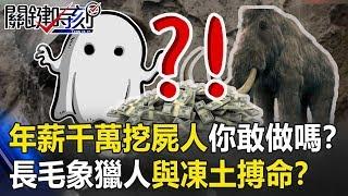 年薪千萬「挖屍人」你敢做嗎? 與西伯利亞凍土搏命的「長毛象獵人」!?關鍵時刻20190716-3 馬西屏