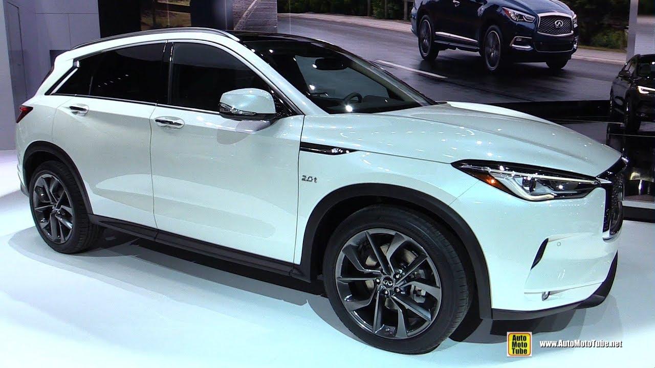 2019 infiniti qx50 - exterior and interior walkaround - debut at